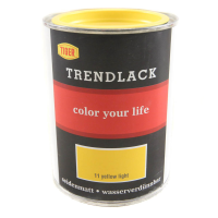 Acryllack Tiger Trendlack yellow light 11 seidenmatt 0,5l