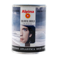 Buntlack Alpina Colorful World vibrant atlantica...